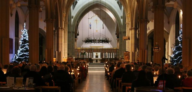 Hundreds attend the Light up a Life service to remember loved ones