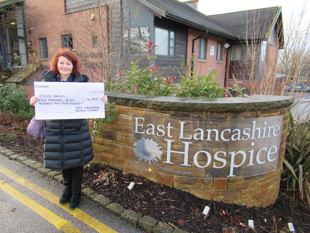 East Lancashire Hospice Lottery player scoops £4,750 rollover jackpot