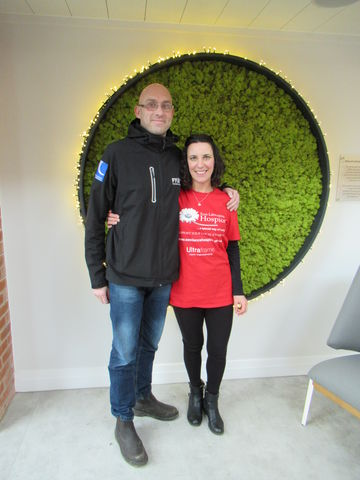 Businessman tackles mammoth walk for charity
