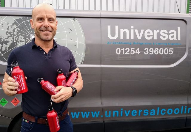 Oswaldtwistle businessman sponsors 500 bottles for charity