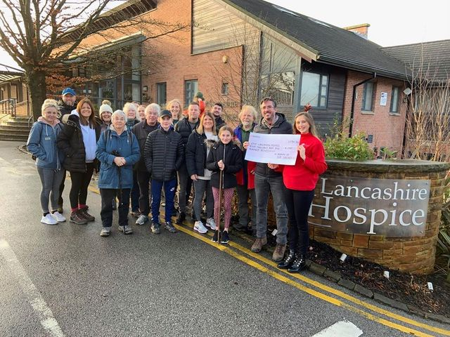 Family boosts funds for hospice care
