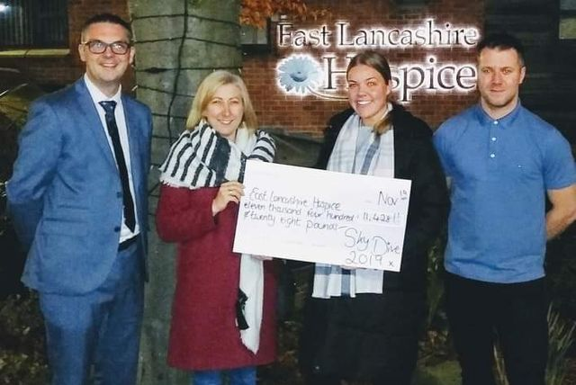 Sky's the limit for hospice fundraisers