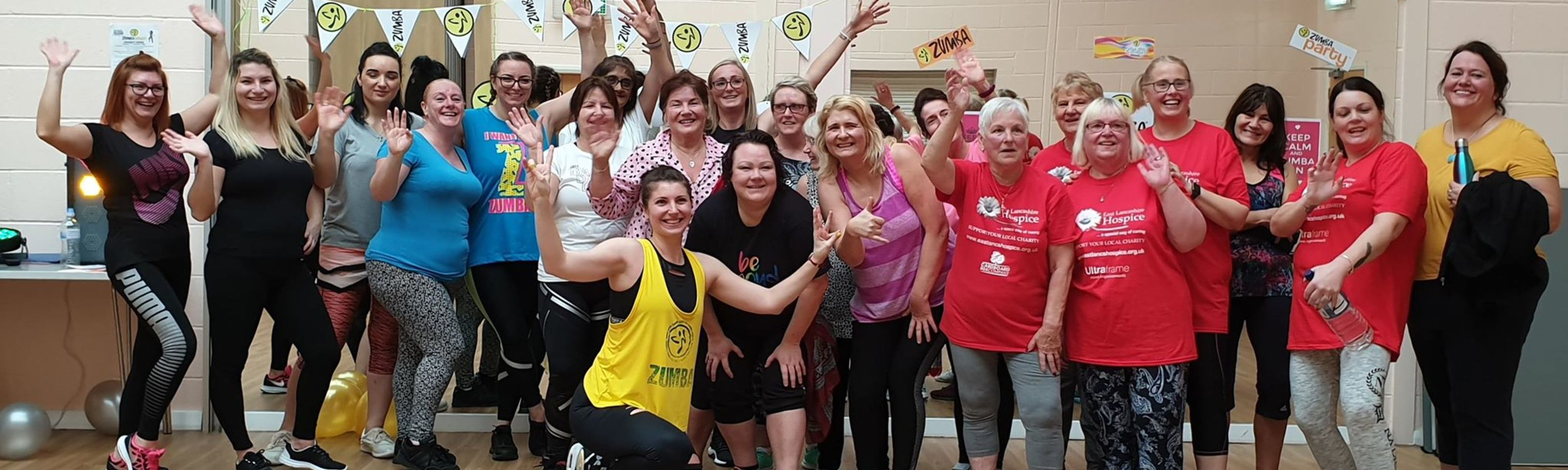 Hip-shaking event raises £1,310 for the hospice