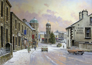 Great Harwood Winter Scene
