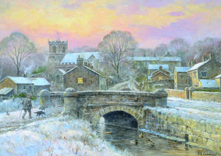 Downham Winter Scene