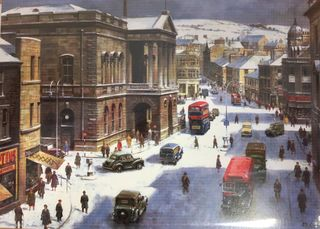 Accrington Winter Scene