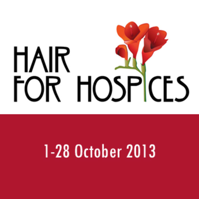 Hair for Hospices month logo