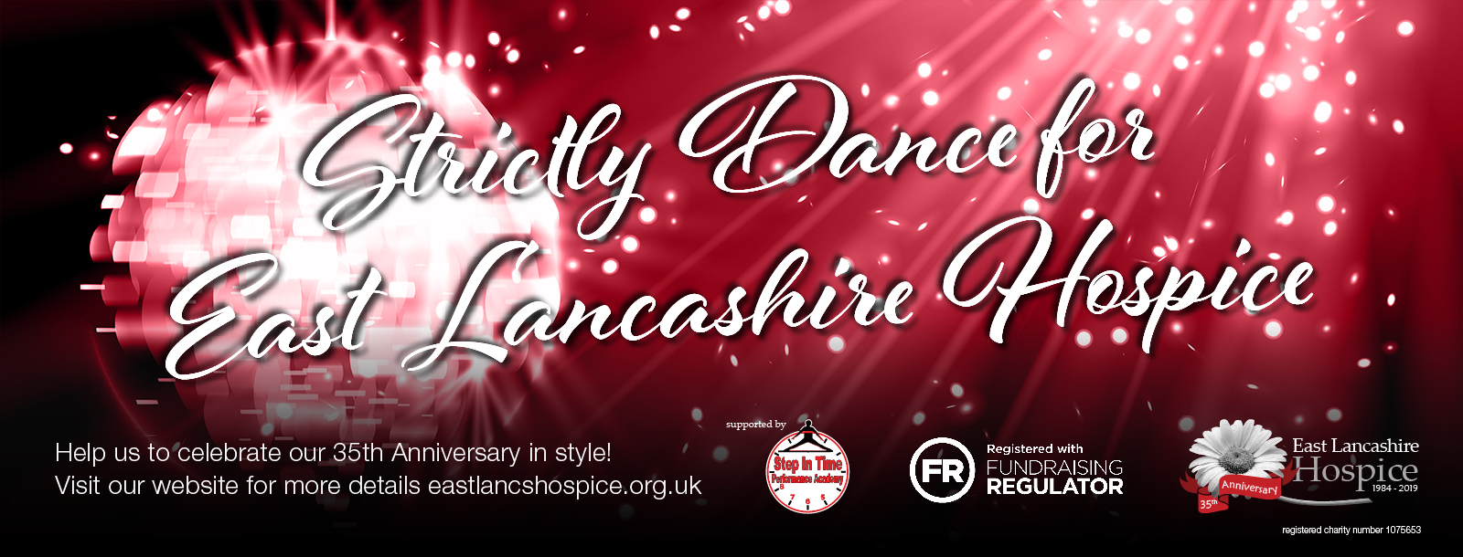 East Lancs Strictly Dance Banner