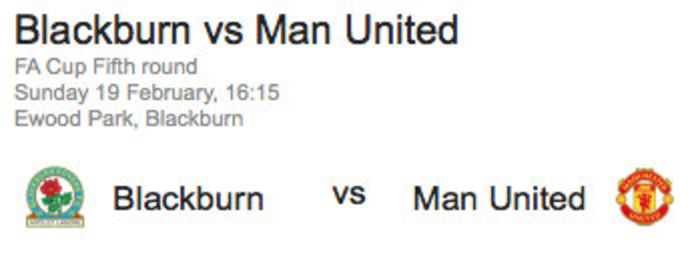 Rovers v United